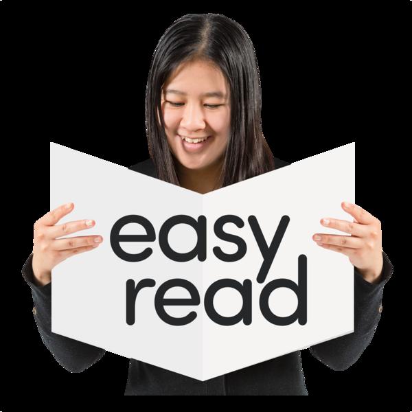 Easy Read logo